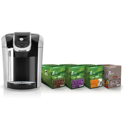 Keurig® K475 Brewer and Pods Bundle