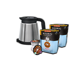 Keurig® 2.0 Thermal Carafe plus The Original Donut Shop® Value Bundle