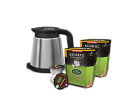 Keurig® 2.0 Thermal Carafe plus Green Mountain Coffee® French Roast Value Bundle