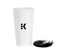 Keurig® Winter White Travel Mug