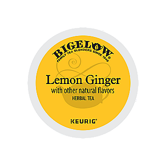 Lemon Ginger Herbal Tea