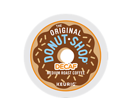 The Original Donut Shop? Decaf Coffee