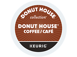 Donut House Coffee Regular Light Roast Recyclable K-Cup® Pod
