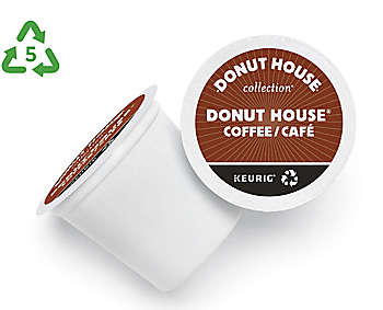 Donut House Coffee Regular Light Roast Recyclable K-Cup® Pod