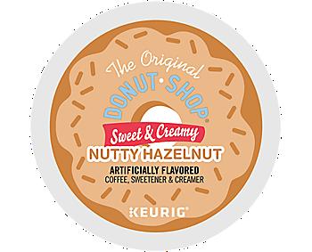 Sweet & Creamy Nutty Hazelnut Coffee, Sweetener & Creamer