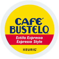 Cafe Bustelo Espresso Style Coffee K-Cups