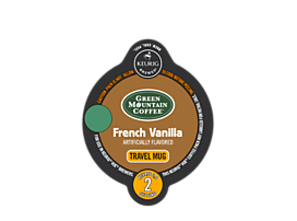 French Vanilla Travel Mug Coffee
