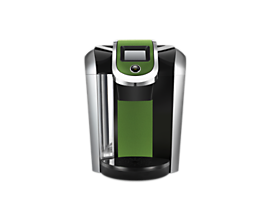 Keurig® 2.0 Brewer Accents - Metallic Colors Collection - Green Apple