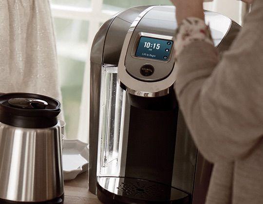 Keurig Single-Cup Coffee Makers Features Keurig