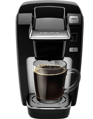 our compact no reservoir coffee maker