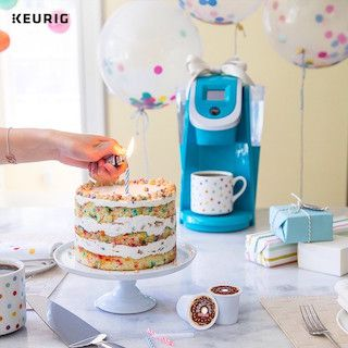 keurig and cake
