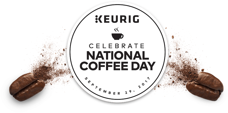 coffee month badge