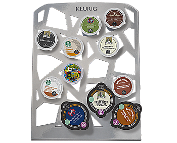 Keurig® Collage™ Storage Unit  Gallery Gray