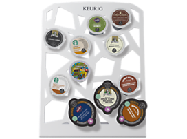 Keurig® Collage™ Storage Nouveau  White