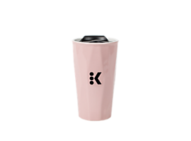 Keurig® 12 oz. Rose Quartz Colored Travel Mug