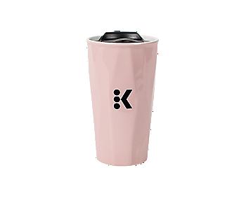 Keurig 174 12oz Rose Quartz Colored Travel Mug