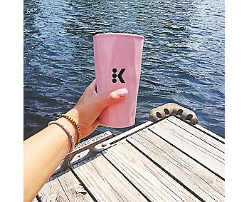 Rose Quartz Travel Mug