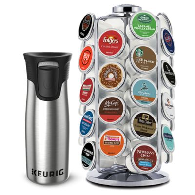 Keurig? Pod Carousel & Travel Mug Bundle