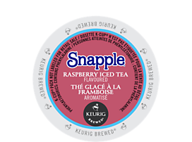 Raspberry flavoured iced tea