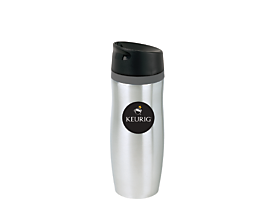 14oz Keurig<sup>TM</sup> stainless steel travel mug