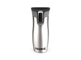 Keurig® 14-oz Stainless Steel Travel Mug