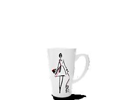 Pink Tartan Mug