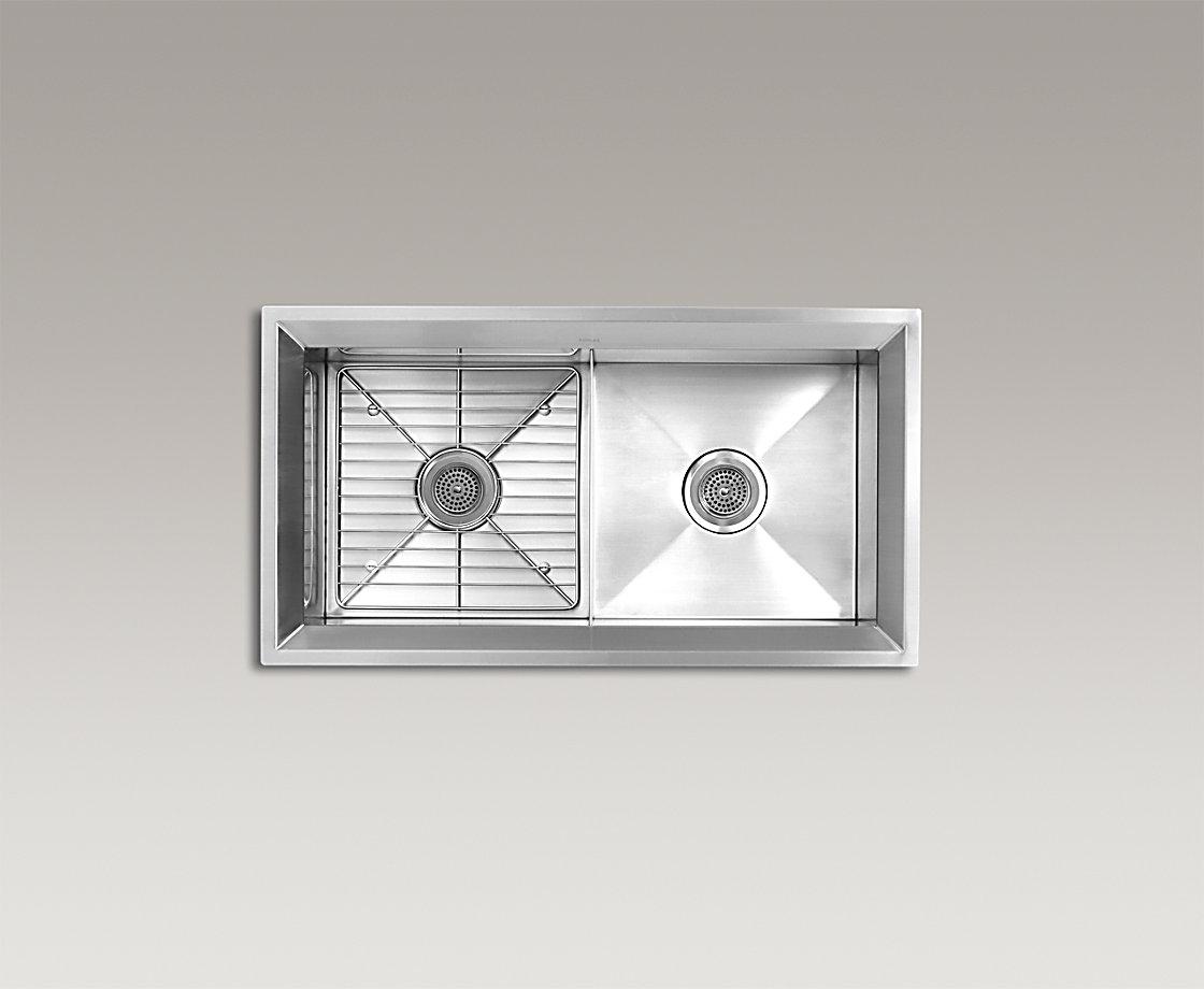POISE™ DoubleEqual UnderMount Kitchen Sink (Small)