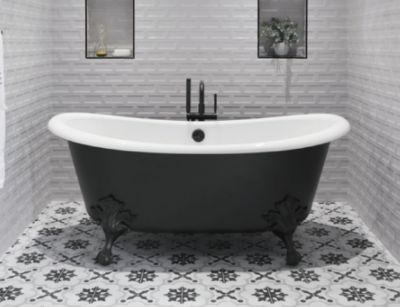 Artifacts Freestanding Cast Iron Bath