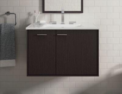 Jute Bathroom Cabinet 36
