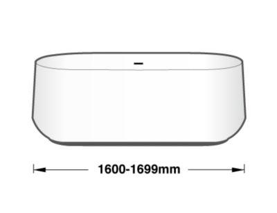1600-1699 mm 浴缸