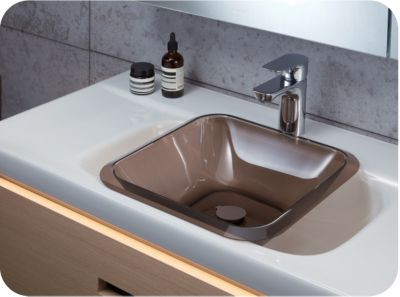 Auxiliary sink-in-sink plastic basin