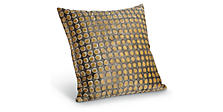 Dot 18w 18h Pillow in Camel