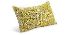 Scotland 22w 13h Throw Pillow in Citron