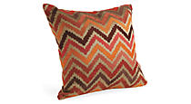 Chevron Spice Pillow