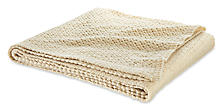 Cria Throw in Ivory
