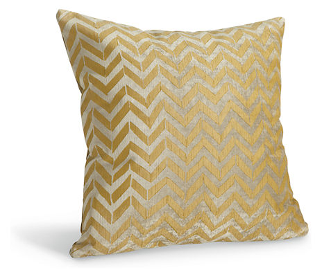 Room and Board - Galbraith & Paul Herringbone Gold Pillow