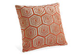 Hive pillow in orange