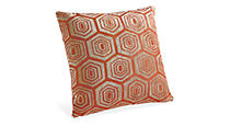 Hive Orange Pillow