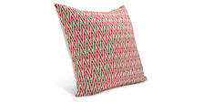 Terra 24w 24h Throw Pillow in Red