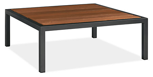 Montego Outdoor Cocktail Table Modern Outdoor End Accent Tables Modern Outdoor Furniture