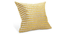 Galbraith & Paul Keys 18sq Saffron Pillow