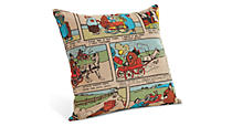 Comic Multi-color Pillow