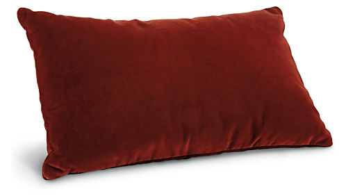 Velvet pillows harrison sofa sofa room living room for Room and board pillows