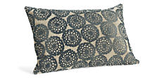 Lace 20w 13h Pillow in Ink
