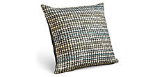 Rainier 18w 18h Throw Pillow in Coal