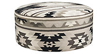 Idris Round Ottoman