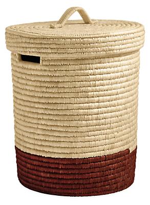 surjo modern lidded baskets modern organization modern