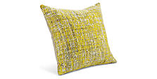 Scotland 24w 24h Throw Pillow in Citron
