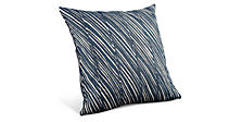Ripple 22w 22h Pillow in Indigo