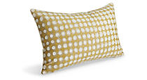 Dot Gold Pillow